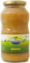 Organic apple puree unsweetened 720 ml
