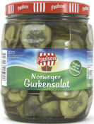 Gherkins salad 1062 ml