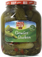 Gherkins 720 ml