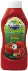 Organic tomatoe ketchup squeeze bottle 1000 ml