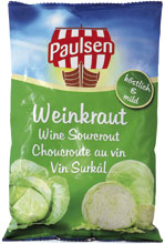 Wine-sourcrout, foil-bag 500 g