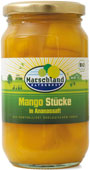 Organic mango pieces, unsweetened 370 ml