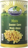 Organic sweet corn 4250 ml