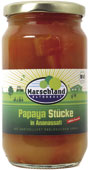 Bio-Papaya St?cke, unges??t 370 ml
