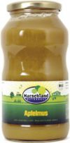 Organic applesauce sweetened 720 ml