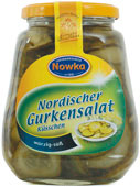 Nordic gherkins salad 580 ml