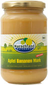 Organic apple banana pur?e, unsweetened 370 ml