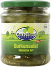 Organic sliced gherkins / salad 370 ml