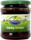 Organic red kidneybeans 370 ml