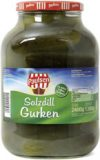 Salted dillgherkins 2650 ml