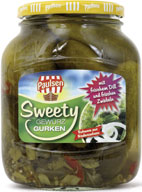 Sweety cucumbers 720 ml
