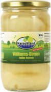 Organic williams pears half fruit, slightly sweetened 720 ml