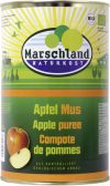 Organic apple pur?e, with raw cane sugar 4250 ml